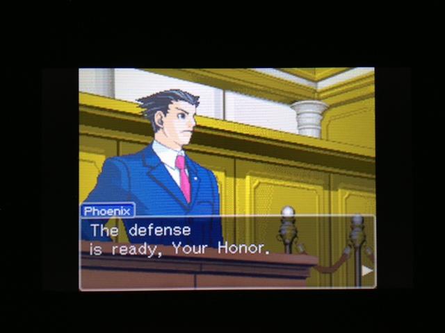 逆転裁判 北米版 マヤ法廷4
