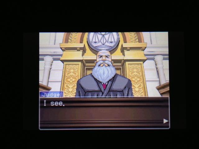 逆転裁判 北米版 マヤ法廷8