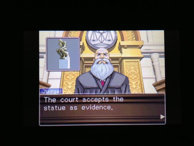 逆転裁判 北米版 マヤ法廷16