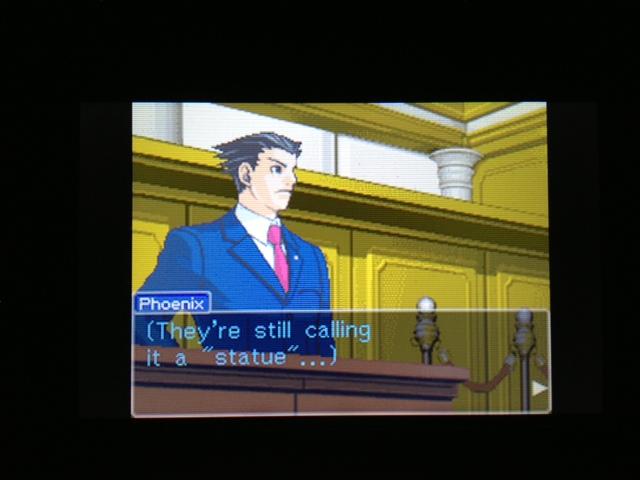 逆転裁判 北米版 マヤ法廷17