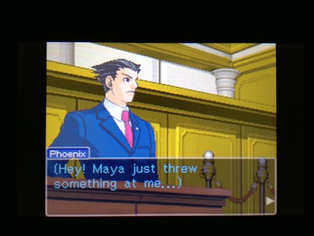 逆転裁判 北米版 マヤ法廷 ガムシュー証言11