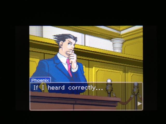 逆転裁判 北米版 マヤ法廷 ガムシュー証言20