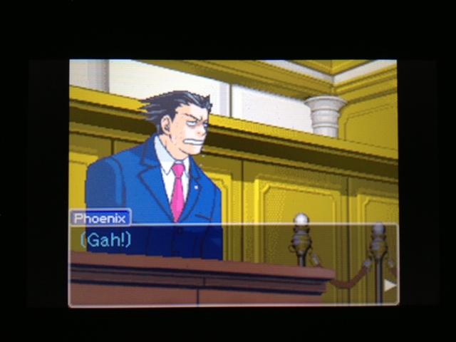逆転裁判 北米版 マヤ法廷 ガムシュー証言31