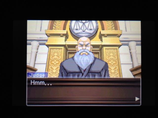 逆転裁判 北米版 マヤ法廷 ガムシュー証言39