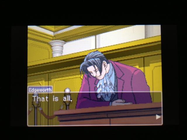 逆転裁判 北米版 マヤ法廷 ガムシュー証言66