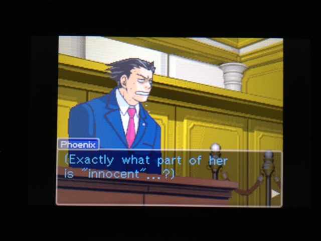 逆転裁判 北米版 マヤ法廷 ガムシュー証言86
