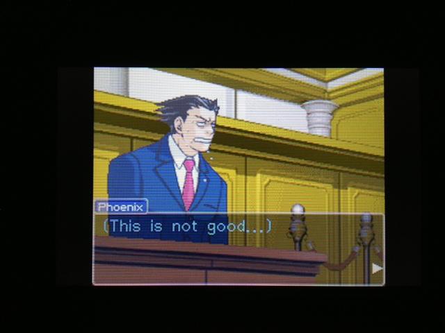 逆転裁判 北米版 マヤ法廷 エイプリル証言 5