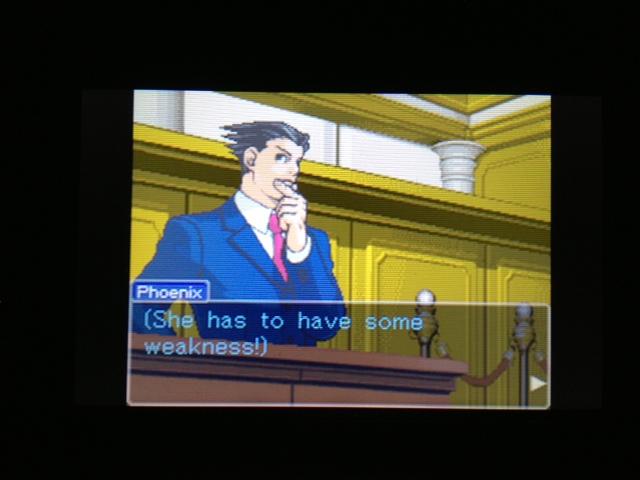 逆転裁判 北米版 マヤ法廷 エイプリル証言 25
