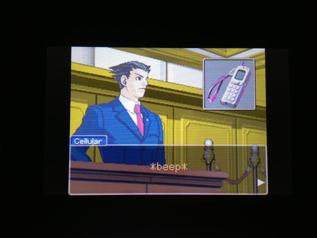 逆転裁判 北米版 マヤ法廷 エイプリル証言 122