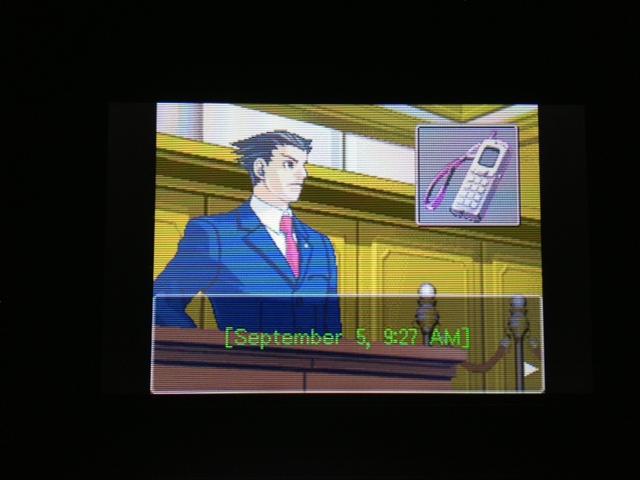 逆転裁判 北米版 マヤ法廷 エイプリル証言 124