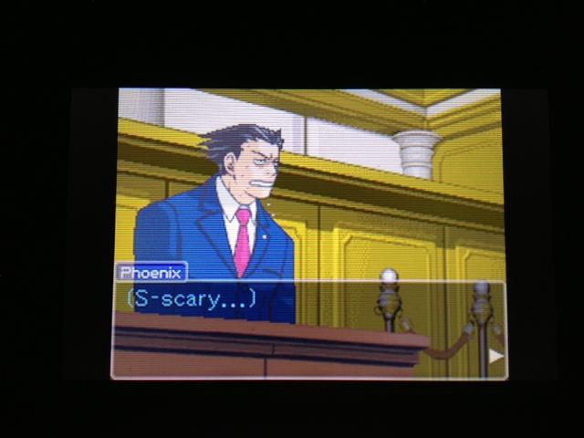 逆転裁判 北米版 マヤ法廷 エイプリル証言 151