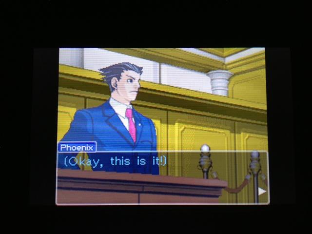 逆転裁判 北米版 マヤ法廷 エイプリル証言 155