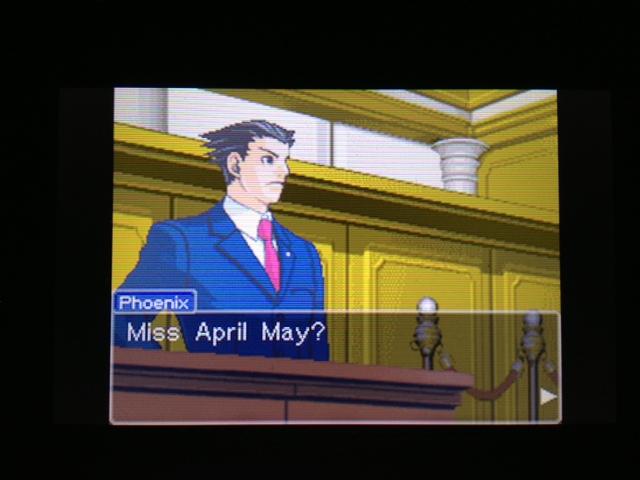 逆転裁判 北米版 マヤ法廷 エイプリル証言 169