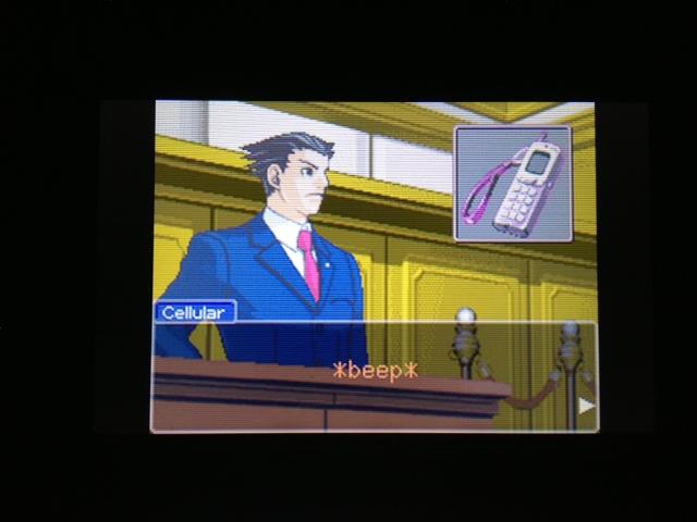 逆転裁判 北米版 マヤ法廷 エイプリル証言 184