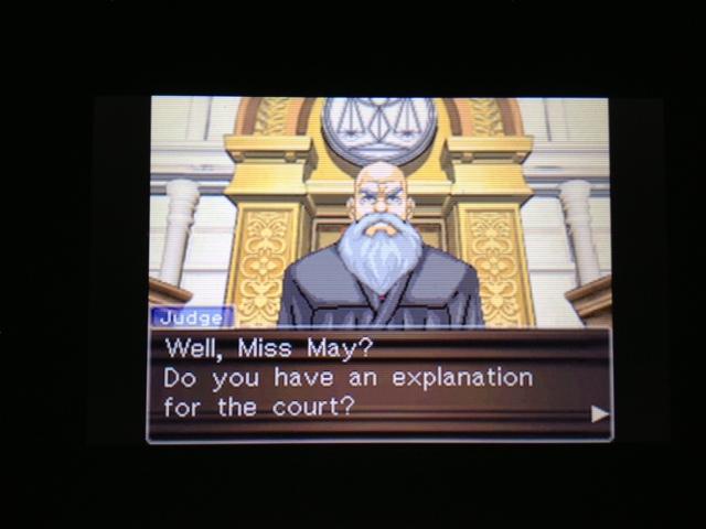 逆転裁判 北米版 マヤ法廷 エイプリル証言 205