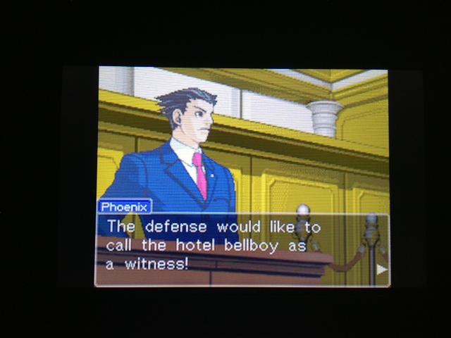 逆転裁判 北米版 マヤ法廷 エイプリル証言 229