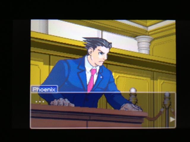 逆転裁判 北米版 マヤ法廷 ベルボーイ証言24