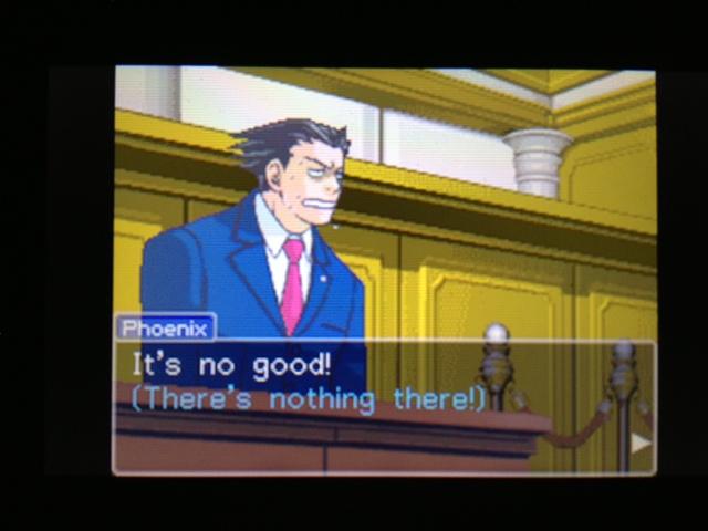 逆転裁判 北米版 マヤ法廷 ベルボーイ証言25