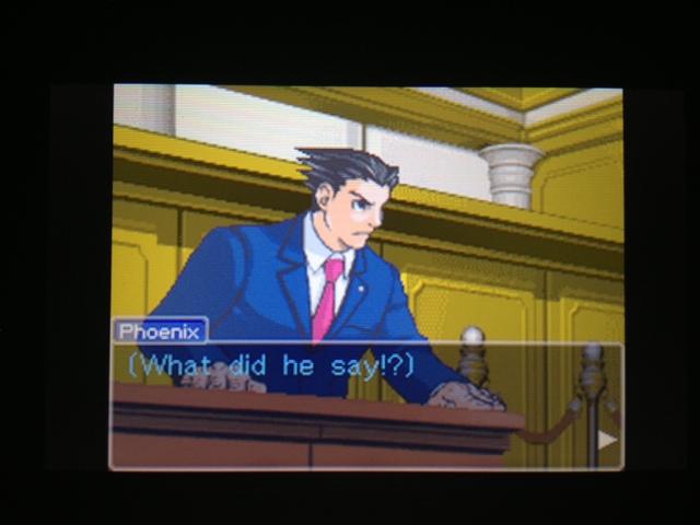 逆転裁判 北米版 マヤ法廷 ベルボーイ証言44