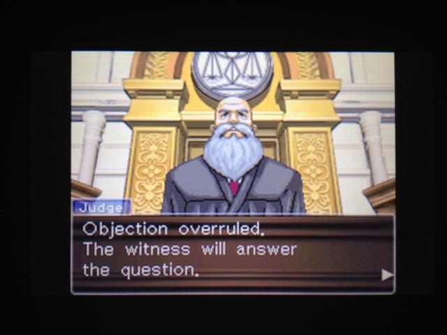 逆転裁判 北米版 マヤ法廷 ベルボーイ証言49