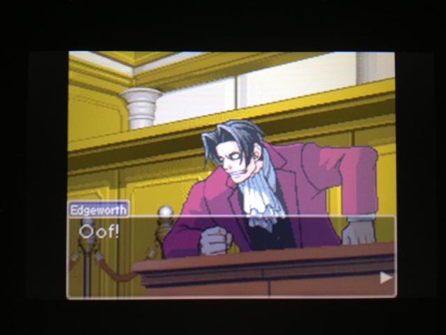 逆転裁判 北米版 マヤ法廷 ベルボーイ証言56