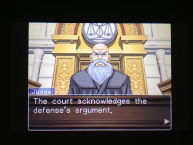 逆転裁判 北米版 マヤ法廷 ベルボーイ証言74