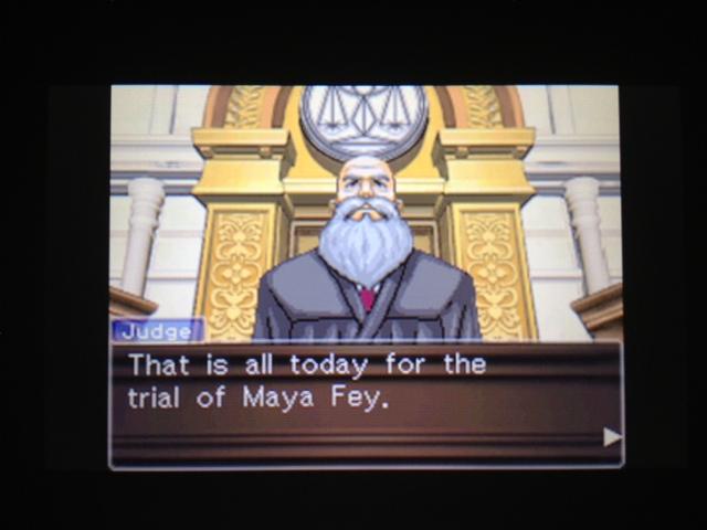 逆転裁判 北米版 マヤ法廷 ベルボーイ証言76