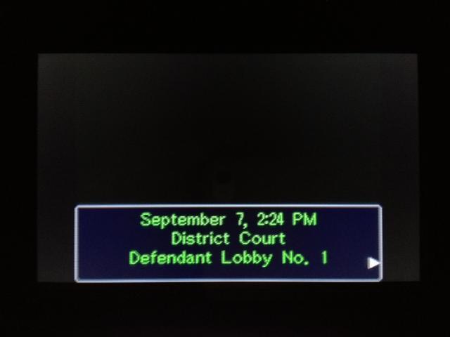逆転裁判 北米版 マヤ法廷 休廷後2