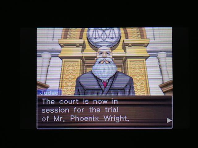 逆転裁判 北米版 フェニックス法廷30