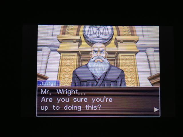 逆転裁判 北米版 フェニックス法廷33
