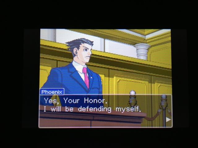 逆転裁判 北米版 フェニックス法廷34