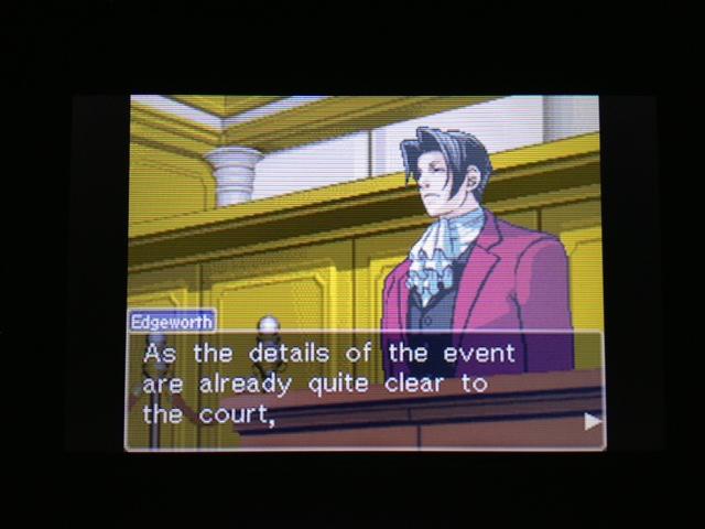逆転裁判 北米版 フェニックス法廷36