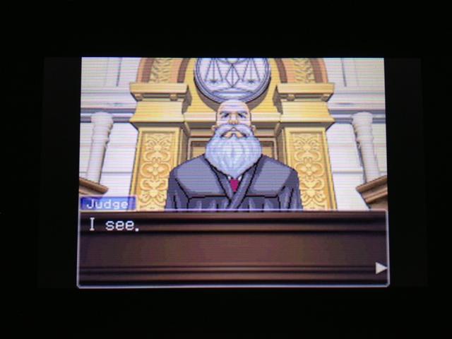 逆転裁判 北米版 フェニックス法廷37