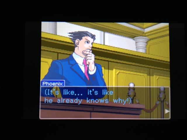 逆転裁判 北米版 フェニックス法廷39