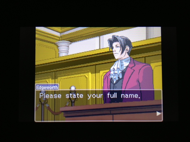 逆転裁判 北米版 フェニックス法廷41
