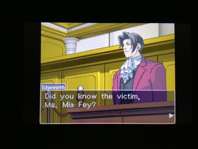 逆転裁判 北米版 フェニックス法廷49