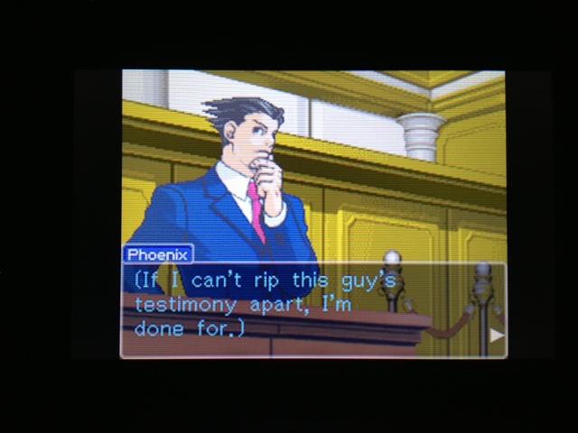 逆転裁判 北米版 フェニックス法廷56