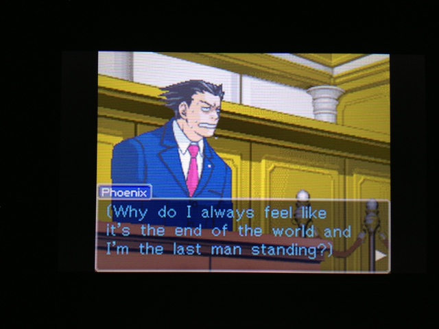 逆転裁判 北米版 フェニックス法廷57