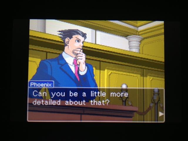 逆転裁判 北米版 フェニックス法廷74