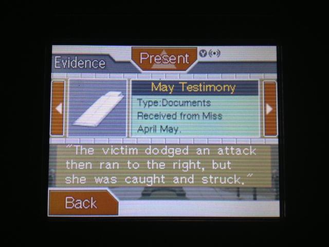 逆転裁判 北米版 フェニックス法廷82