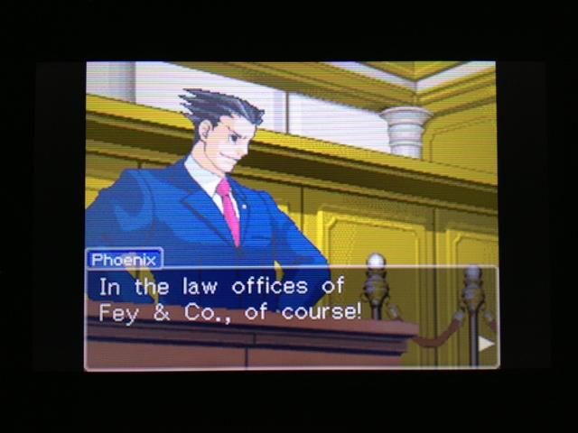 逆転裁判 北米版 フェニックス法廷113