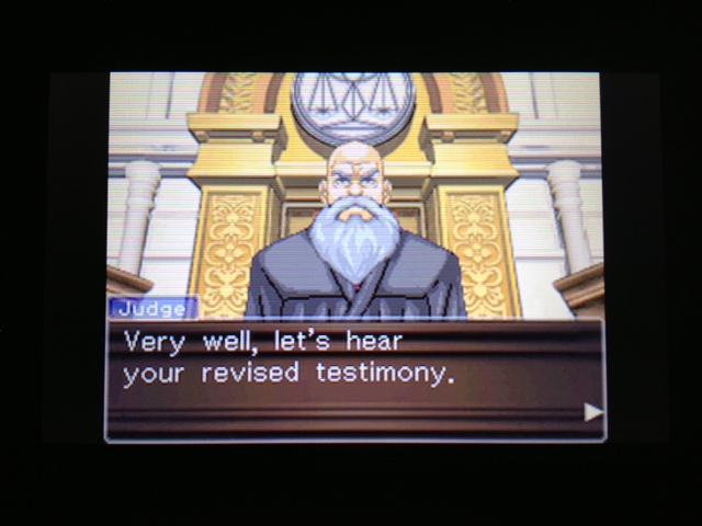 逆転裁判 北米版 フェニックス法廷133