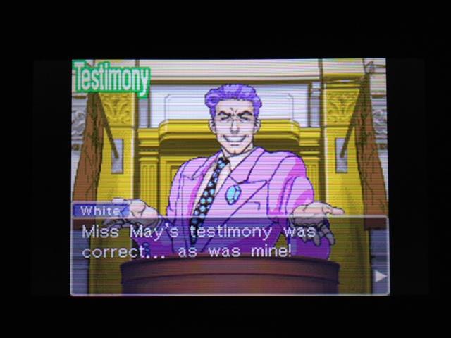 逆転裁判 北米版 フェニックス法廷136