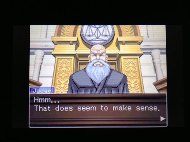 逆転裁判 北米版 フェニックス法廷142