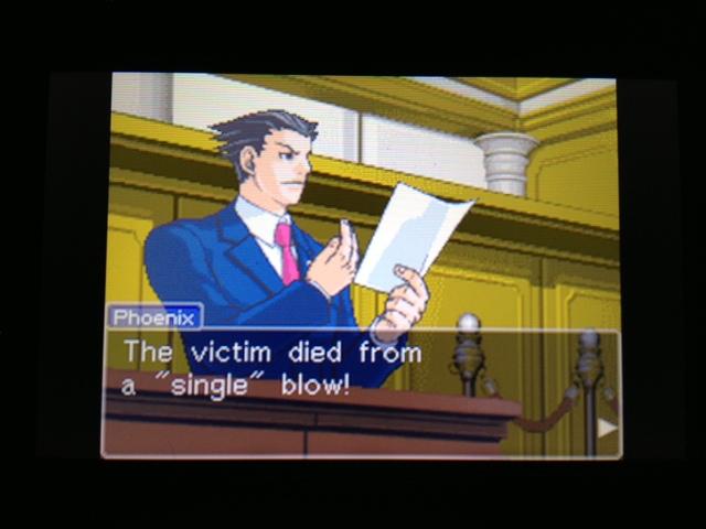逆転裁判 北米版 フェニックス法廷147