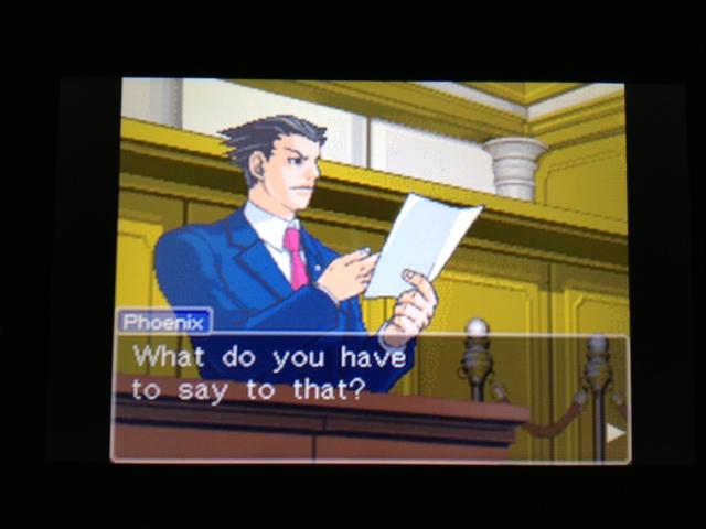 逆転裁判 北米版 フェニックス法廷149