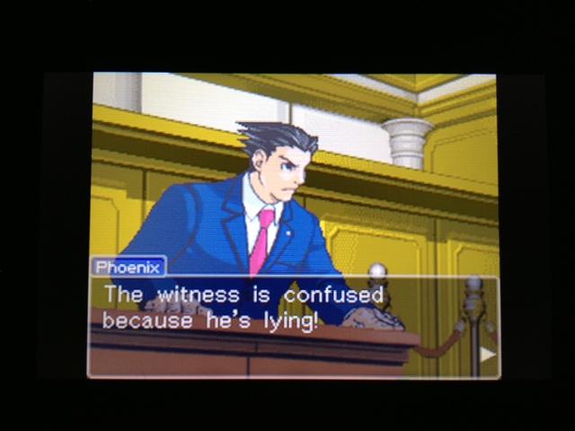 逆転裁判 北米版 フェニックス法廷156