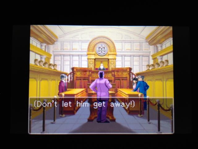 逆転裁判 北米版 フェニックス法廷159