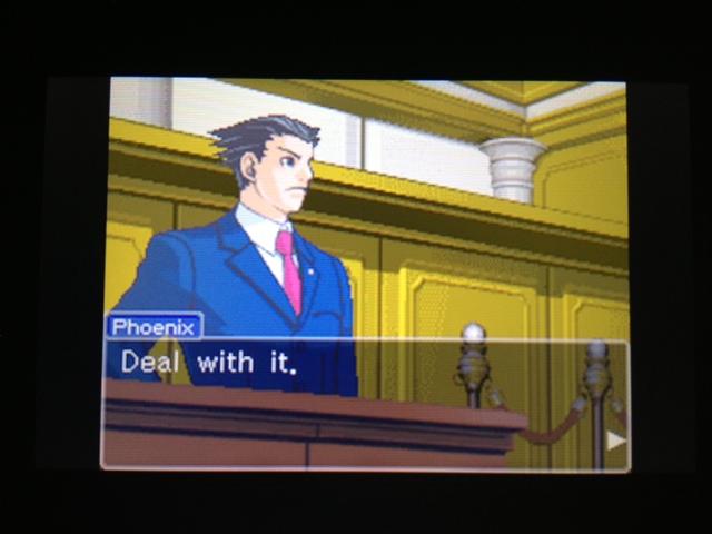 逆転裁判 北米版 フェニックス法廷172