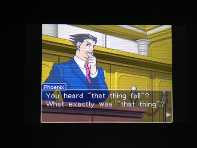 逆転裁判 北米版 フェニックス法廷176